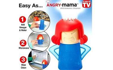 تمیز کننده ماکروویو angry mama - 1