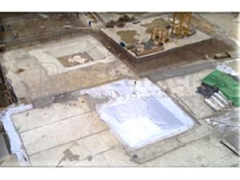 زهکشی و آب بندی گود ساختمانی در تجریش - 1