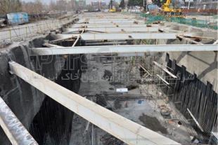 زهکشی و آب بندی تونل مترو چهارراه مولوی