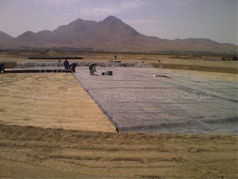 ساخت دریاچه با ورق ژئوممبران - 1