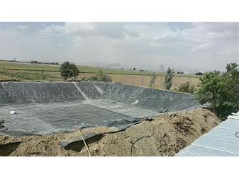 ساخت استخر کشاورزی با ورق ژئوممبران - 1