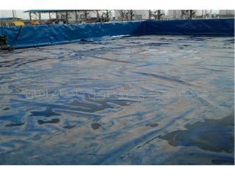 آب بندی استخر ذخیره آب با ورق ژئوممبران - 1
