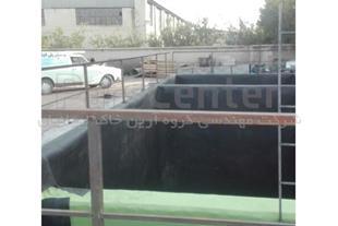 ساخت حوضچه ذخیره لجن اسیدی با ورق ژئوممبران