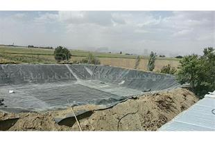 ساخت استخر کشاورزی با ورق ژئوممبران
