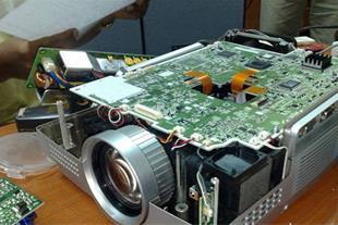 آموزش تعمیر ویدئو پروژکتور - 1