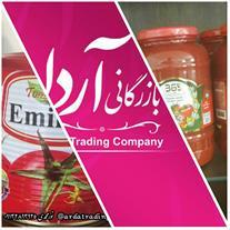 فروش عمده رب گوجه فرنگی