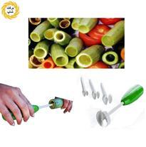 ست 4 تکه تخلیه کننده میوه و سبزیجات Vegi Drill اصل