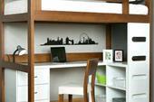 دکوراسیون داخلی ساخت کمد دیواری و تختخواب