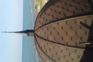 پوشش بام شمال. سقف شینگل سفال اندوویلا