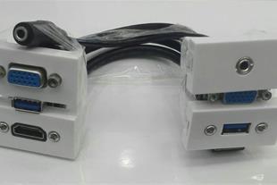 سوکت HDMI , USB , VGA , AUDIO