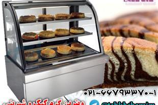 ویترین گرم شیرینی و کیک
