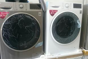 ماشین لباسشویی الجی 8 کیلو 1400 دور WJ6148STP