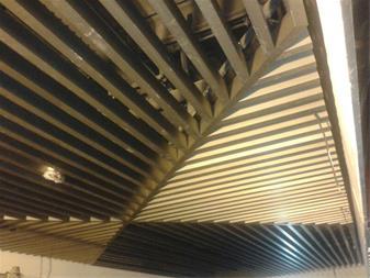 سقف کاذب آلومینیومی بافل طاها - 1