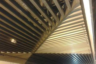سقف کاذب آلومینیومی بافل طاها