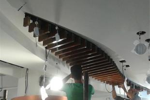 استخدام کارگر و نصاب سقف کاذب آلومینیومی