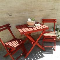 فروش میز و صندلی چوبی تاشو