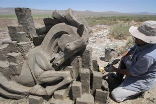 آموزش ساخت مجسمه نمکی