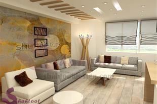 طراحی دکوراسیون منزل سعادت آباد