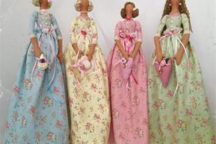 عروسک های دست سازمادمازل