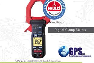 کلمپ آمپرمتر AC/DC مدل GPS-270 - 1