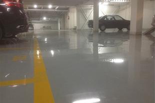کفپوش پارکینگ اپوکسی (مجتمع تجاری اداری مهر-تهران)