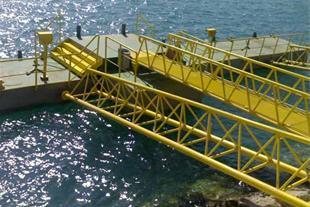 سد لاستیکی _  سازه دریایی سنگین