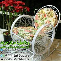 صندلی راک فلزی رنگ استاتیک