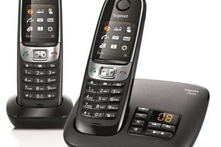 تلفن بیسیم C620a Duo گیگاست (زیمنس)