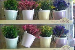 گلدان سطلی 4 تایی