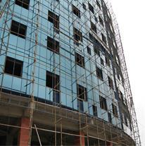 اجرای نمای شیشه ای ساختمان