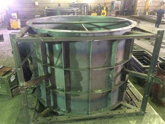 کارخانه تولید قالب فلزی بتن و جک سقفی - 1