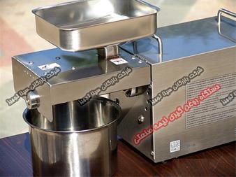 دستگاه روغن گیری کوچک و رومیزی، نیمه صنعتی و صنعتی - 1