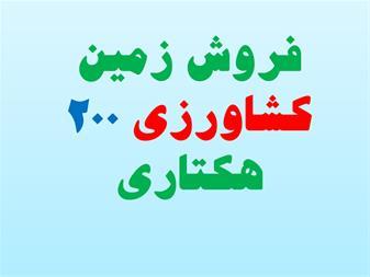 فروش زمین کشاورزی 200 هکتاری استان قزوین - 1