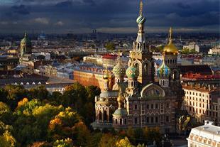 تور روسیه مسکو - سن پترزبورگ 7 شب پرواز قشم ایر