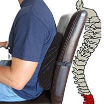 پشتی طبی صندلی اداری و اتومبیل