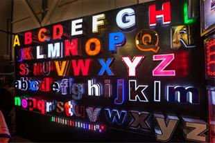 ساخت انواع حروف برجسته - 1