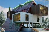 طراحی و ساخت ویلا توسط دفتر معماری آرل