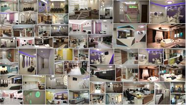 نمای ساختمان , دکوراسیون داخلی و مبلمان اداری - 1