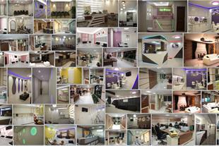نمای ساختمان , دکوراسیون داخلی و مبلمان اداری