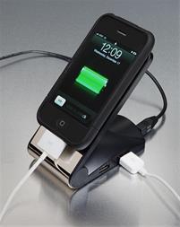 نگهدارنده غیر لغزشی موبایل با هاب شارژر 4 پورت USB - 1
