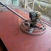 اجرای بتن ریزی کف ، سوله و محوطه با ماله برقی
