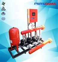 بوستر پمپ آتش نشانی گروه صنعتی پارس دما - 1