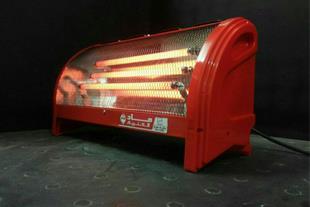 بخاری برقی سه شعله ، فن دار مدل راد