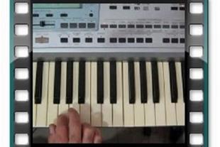 آموزش تصویری نوازندگی  کیبورد