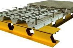 اجرا و تولید سقف عرشه فولادی و سینوسی ، تهیه مش
