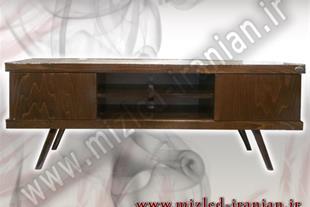 عرضه مستقیم انواع میز تلویزیون چوبی ، ارسال رایگان