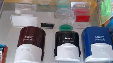 انواع مهرهای اتوماتیک و ساده در سایزهای مختلف