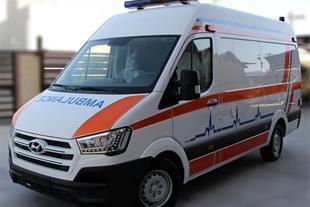 آمبولانس هیوندای HYUNDAI H350