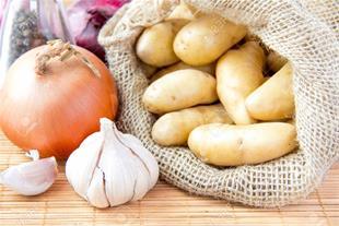تولید و صادرات سیب زمینی و سیر و پیاز