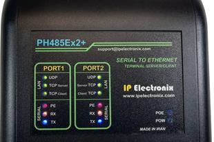 مبدل RS485 و RS422 به شبکه اترنت مدل PH485Ex2P